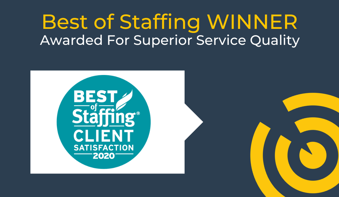 Selectemp Wins ClearlyRated's 2020 Best of Staffing Client Award for Service Excellence