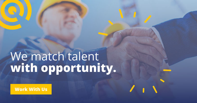 We match talent with opportunity