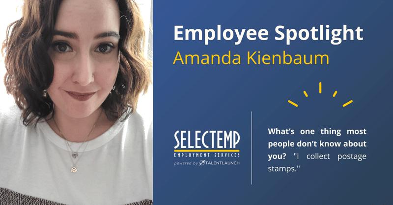 Selectemp Employee Spotlight: Amanda Kienbaum