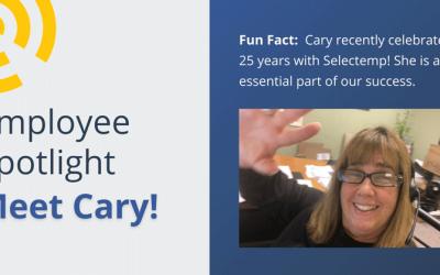 Selectemp Employee Spotlight: Cary Kuvass