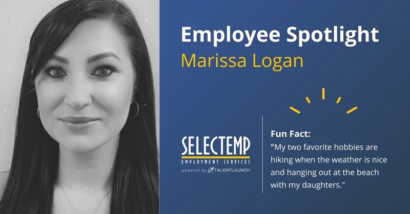 Employee Spotlight, Marissa is a Branch Manager in our Roseburg office