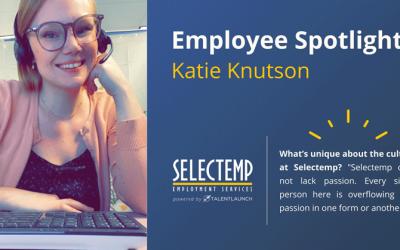 Selectemp Employee Spotlight: Katie Knutson